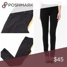 "Hudson Tilda cigarette straight jeans black 30 Item: Hudson ""Tilda"" cigarette slim straight leg jeans in black. Long inseam 🔸 Size: 30 🔸 Measurements: waist 16.5""across inseam 34"" rise 8.5"" Hudson Jeans Jeans Straight Leg"