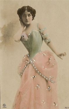 1890-1915 - Tinted Postcard