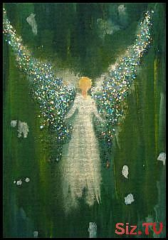 """HEALING ANGEL- Hello, I have available a print from an original ACEO of mine on 80 lb acid free Bristol Paper titled, """"Healing Angel"""". This piece will make a great addition to any art collection. Spiritual Paintings, Angel Guide, I Believe In Angels, Angel Pictures, Angel Ornaments, Angel Art, Religious Art, Cool Art, Canvas Art"""