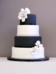 blue green and white wedding cakes - Google Search