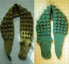 Kids Gator Scarf - Free crochet tutorial/pattern