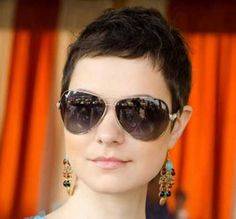 Short Pixie Cuts for Thick Hair 2014