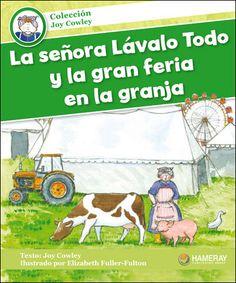 $5.95 La señora Lávalo Todo y la gran feria en la granja: Hoy es el día de la gran feria en la granja. Pero los animales no están limpios.