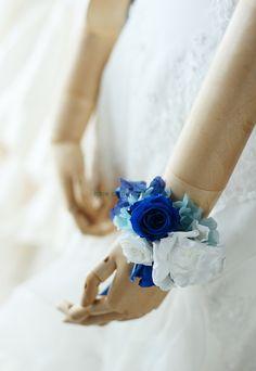 ラウンドブーケ アニヴェルセル東京さまへ ある日ネットで見て一目ぼれしたブーケを持てて、良かった : 一会 ウエディングの花
