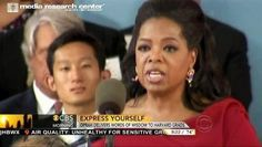 CBS Boosts Oprah's 'Remarkable' Pro-Gun Control Commencement Speech at Harvard | 'REPIN' if you are tired of liberals like Oprah using graduation speeches to promote their liberal agenda