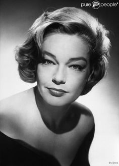 Simone Signoret  - French actress known for the films Room At The Top and the thriller Diabolique. She was married to French actor/director Yves Montand. She died on Sept 30, 1985 from pancreatic cancer at the age of 64.