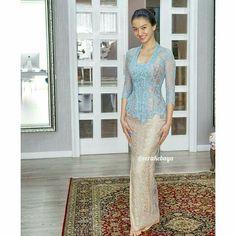 Vera Kebaya, Kebaya Lace, Kebaya Brokat, Kebaya Dress, Batik Kebaya, Batik Dress, Batik Fashion, Ethnic Fashion, Dress Brukat