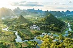 Image result for cuiping yangshuo china Drone Photography, Travel Photography, Places Around The World, Around The Worlds, Places To Travel, Places To Visit, China Travel, What A Wonderful World, Wanderlust