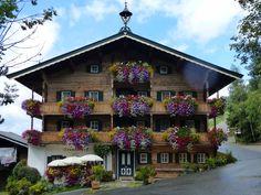 #Branderhof in #Aurach near Kitzbuehel, the starting point for visiting the Wildpark