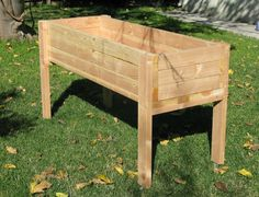 Living Green Planters Portable Elevated by LivingGreenPlanters