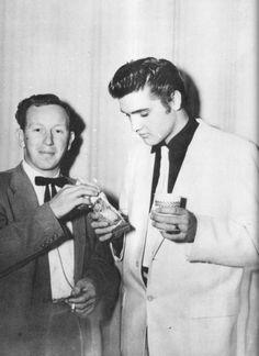 Backstage 1956