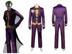 Batman Arkham Asylum joker costume cosplay #superhero #batman #joker #cosplay #costume  sc 1 st  Pinterest & Girl Joker Costume | Game | Pinterest | Costumes Jokers and Girls