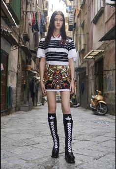 Napoli, set per Givenchy nel centro storico