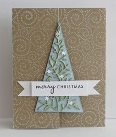 Elyse Tree Z Fold card by stampit74 - Cards and Paper Crafts at Splitcoaststampers