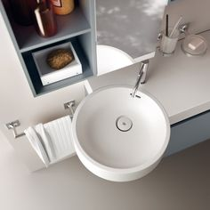 integrated lavatory detail
