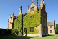 Barrington Court House, Owned and protected by the National Trust, this beautiful Elizabethan house is just down the road from us and we enjoy family days picnicking on the lawn in the summertime x
