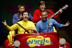 When I was volunteering at a daycare, the teacher had played the wiggles to the children and they were dancing to it. The wiggles have great rhythm and understandable words to the children. Wag The Dog, Pop Evil, The Wiggles, Tv Tropes, Music And Movement, Pbs Kids, Kids Shows, Music Tv, Beach Fun