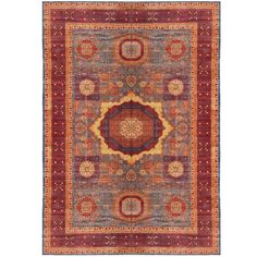 Very Large Mamluk Hand-Knotted Rug | From a unique collection of antique and modern turkish rugs at https://www.1stdibs.com/furniture/rugs-carpets/turkish-rugs/