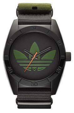 adidas Originals 'Santiago - Special Edition' Fabric Strap Watch