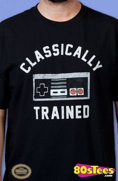 e297cc2f8 Classically Trained NES Controller Shirt. Adventure Camera tech · Cool T- shirts and Streetwear