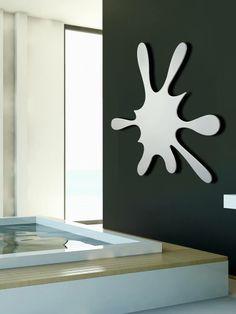 Splash radiator by Michele Casassa House Design, Minimalist Design, Home Decor Decals, Home, Home Furniture, Metal Design, Home Decor, Designer Radiator, Attic Shower