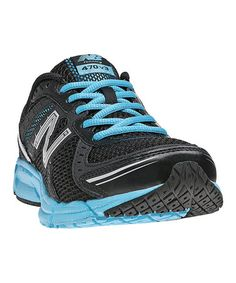 Take a look at this Black & Blue 470 Running Shoe - Women by New Balance on #zulily today!