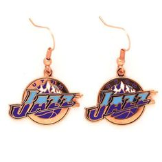 Utah Jazz Dangle Earrings