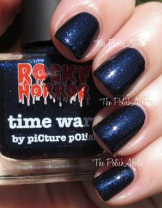 piCture pOlish | Rocky Horror Picture Show Collection | Swatches | Time Warp