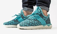 best sneakers c9394 5fa24 Adidas Tubular Runner Primeknit Blue Spirit