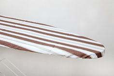Multi coloured variegated yarn-dyed stripe cotton ironing board colour by Suraaj Linens