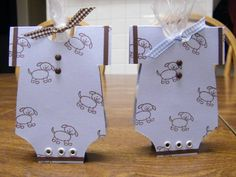 Baby Shower Party Favors by motherof4boys - Cards and Paper Crafts at Splitcoaststampers