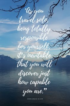 #travelquote #travel #inspiringquote #travelsolo