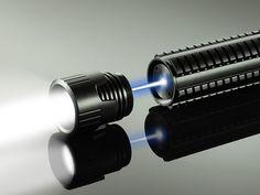 Phosforce laser flashlight