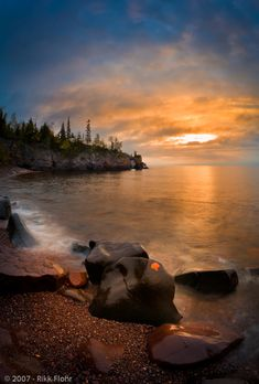 Tettegouche State Park on Lake Superior
