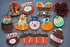 Fall Assortment by flickr user Ali Bee's Bake Shop. I LOVE the leaf in the upper right corner!