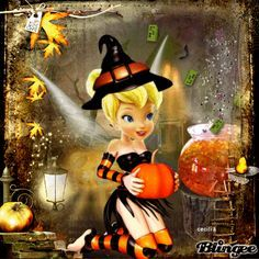 Discover & share this Halloween GIF with everyone you know. GIPHY is how you search, share, discover, and create GIFs. Disney Halloween, Halloween Gif, Halloween Wallpaper, Halloween Quotes, Halloween Pictures, Holidays Halloween, Happy Halloween, Halloween Crafts, Tinkerbell And Friends