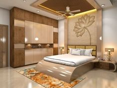 the newest bedroom furniture design catalog with modern bedroom cupboard design ideas and wooden wardrobe interior designs 2019 Bedroom Cupboard Designs, Wardrobe Design Bedroom, Luxury Bedroom Design, Bedroom Furniture Design, Master Bedroom Design, Home Interior Design, Bedroom Decor, Modern Interior, Bed With Wardrobe