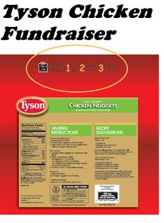 Tyson Chicken Product Labels Fundraiser - This is an easy school fundraiser idea. Collect product labels from eligible Tyson products and earn up to $12,000 a year. Each label is worth $0.24 and minimum redemption is 100 labels. Details and links in the article on FundraiserHelp.com #schoolfundraiser