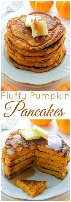 This recipe is a MUST PIN if you love moist fluffy flavorful pumpkin pancakes! This recipe is a MUST PIN if you love moist fluffy flavorful pumpkin pancakes! Pumpkin Recipes, Fall Recipes, Holiday Recipes, Summer Recipes, Pumpkin Dessert, Pumpkin Pancakes Easy, Fluffy Pancakes, Fall Baking, Breakfast Dishes