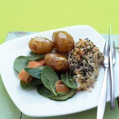 Whip up this healthy fish dish in under half an hour.