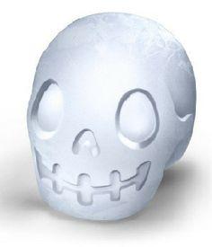 Contemporary Giant Skull Ice Mold