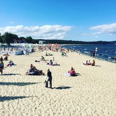 Sopot: I felt like going to the #beach today #happymonday #mykindofday Happy Monday, Poland, Dolores Park, Felt, Beach, Water, Travel, Outdoor, Instagram