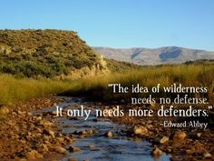 ed abbey quotes - Google Search