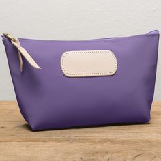 Jon Hart Grande Bag in Purple Coated Canvas I would rather have blue