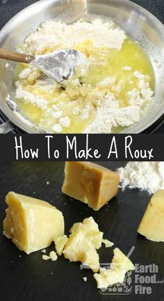 Knowing how to make roux at home allows you to thicken various soups, and sauces. A basic cooking skill taught in all culinary schools. via @earthfoodfire