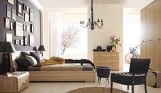 Aranżacja sypialni Como sprawia wrażenie wyjątkowo ciepłej i przyjaznej. Dostępna jest w dwóch kolorach: dębu naturalnego oraz dębu czekoladowego. Polecamy :)