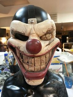 Hey, I found this really awesome Etsy listing at https://www.etsy.com/ca/listing/203209884/twisted-metal-sweet-tooth-mask-replica