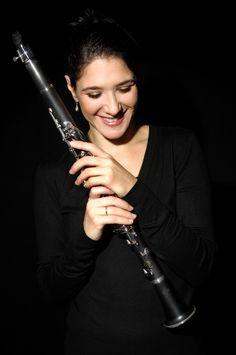 Sharon Kam, aka a clarinet goddess