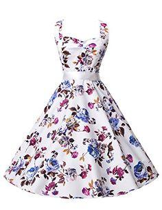 Short Floral Print Halter Vintage Cocktail Party Dresses 60's S Belle Poque Retro Dress http://www.amazon.co.uk/dp/B00YC6WFAG/ref=cm_sw_r_pi_dp_KAi4wb0651R9Y