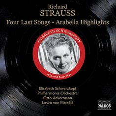Strauss: 4 Letzte Lieder, Trv 296: No. 4. Im Abendrot: 4 Last Songs par Elisabeth Schwarzkopf & Philharmonia Orchestra & Otto Ackermann identifié à l'aide de Shazam, écoutez: http://www.shazam.com/discover/track/91891029